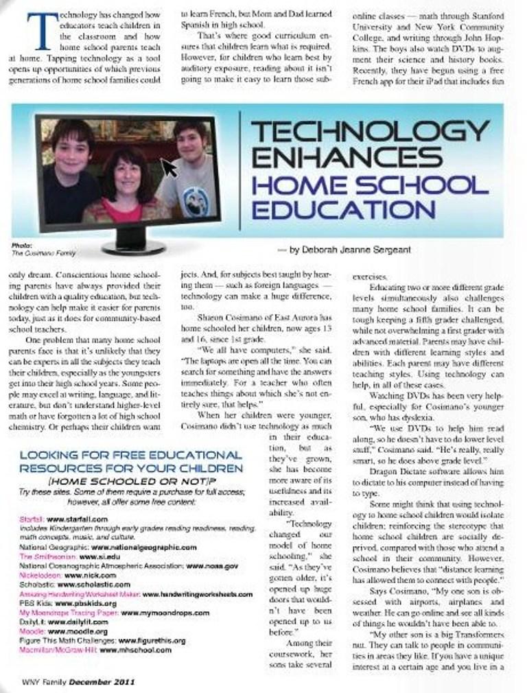 HomeschoolTechWNYFM